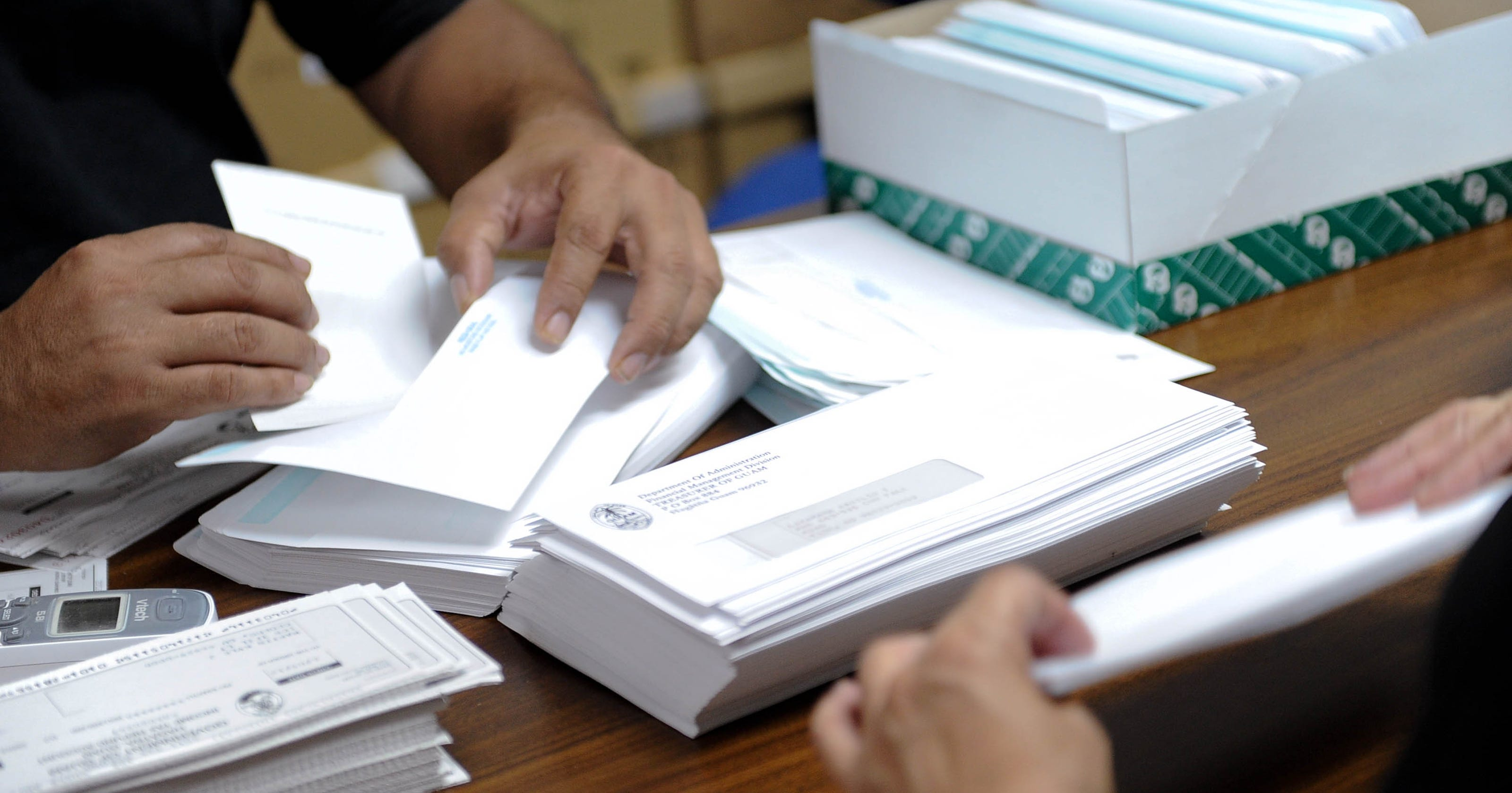 Reasons cited by GovGuam for tax refund delay