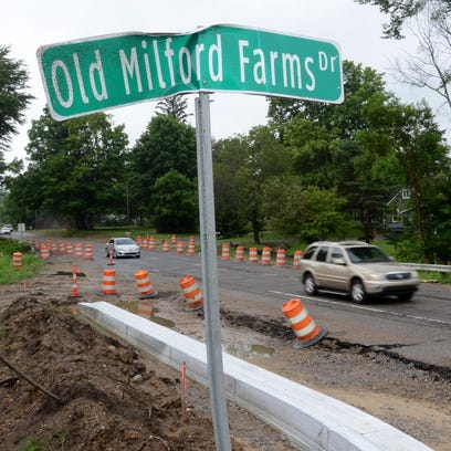 Work will continue for at least another month on Milford