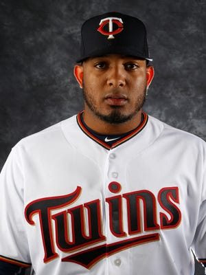 FORT MYERS, FL - MARCH 1:  Fernando Abad #58 of the Minnesota Twins poses for a photo during the Twins' photo day on March 1, 2016 at Hammond Stadium in Ft. Myers, Florida.  (Photo by Brian Blanco/Getty Images)