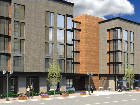 Rhode Island-based Magna Hospitality Group is planning a 174-room, four-star hotel at 164 Union.