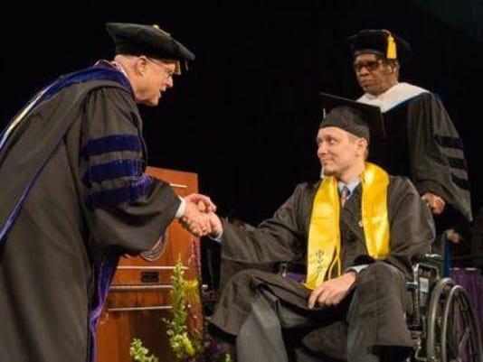 UWSP graduation
