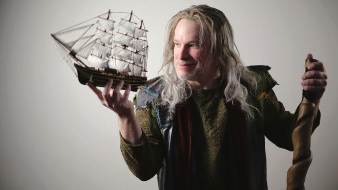 "Nicholas Rose stars as Prospero in Cincinnati Shakespeare Company's production of William Shakespeare's ""The Tempest,"" playing April 28- May 20. Rose is a founding member of the 24-year-old company."