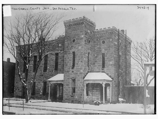 The Tom Green County Jail at 116 W. Harris Ave. in