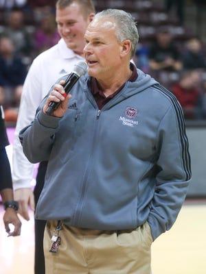 Missouri State football coach Dave Steckel.