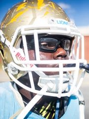 D. W. Daniel High School defensive tackle Miles Turmon