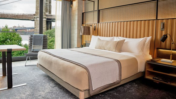 The 1 Hotel Brooklyn Bridge is set to open this month.