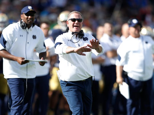 Notre Dame coach Brian Kelly says he will take a more hands-on approach with the Irish's defense moving forward.