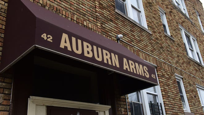 The owner of the Auburn Arms apartment buildings in Paterson wants to convert them to housing for homeless families but was turned down by the city zoning board.