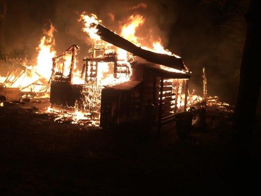 DCA 0711 Chambers Island fire 1