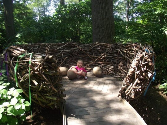 This bird's nest at Winterthur has room for your entire flock to play.