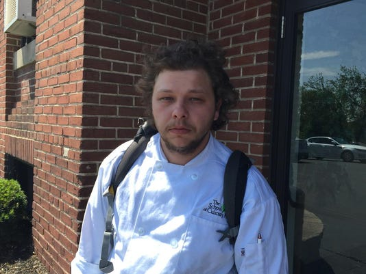 Mark Blizzard, 26, a YBI student, said he loved program and plans to transfer to YTI to finish his culinary degree.