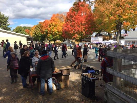 Rhinebeck (NY Sheep & Wool Festival.) 2015