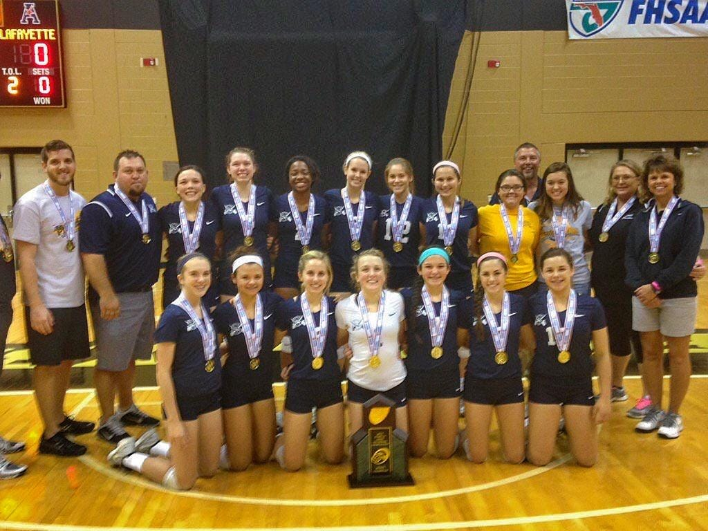 Sneads captured a third consecutive Class 1A state title last week, continuing domination over a class where it hasn't loss a set in three years.