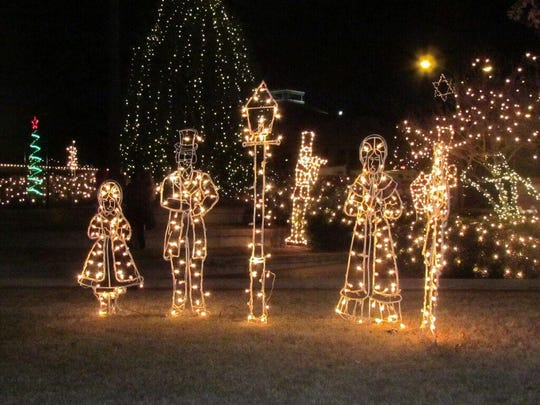 Downtown Alexandria will transform into a winter wonderland complete with extravagant Griswold-style lights displays, snow and an ice rink for children and adults to skate Dec. 3-5.
