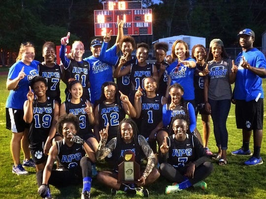 The Godby flag football team captured a district title and a spot in the regional playoffs with a 19-13 win over Chiles on Wednesday night.