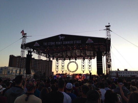 The Stone Pony Summer Stage in Asbury Park offers concerts