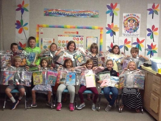 2nd Grade Trinity Lutheran School Service Project