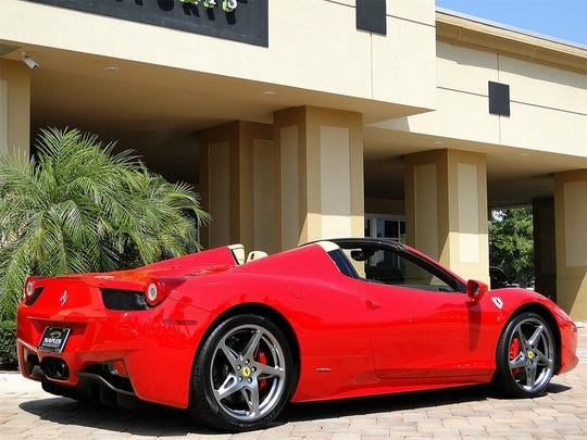 Former Fiat Chrysler executive Alphons Iacobelli unloaded the 2013 Ferrari 458 Spider amid an FBI investigation into the exotic sports car purchase, records show.