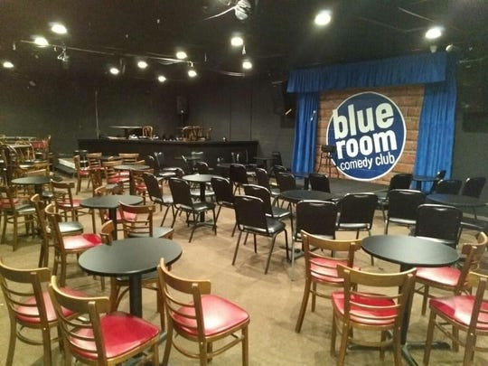 See touring standup comedians at the Blue Room Comedy Club inside Billiards of Springfield.