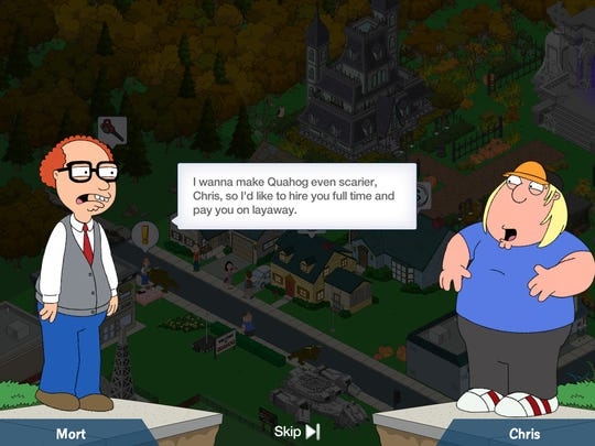 """Characters from """"Family Guy"""" need to work together to rebuild Quahog in """"The Quest for Stuff."""""""