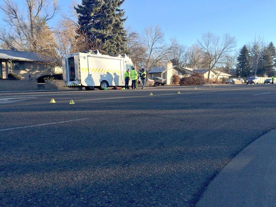 A man was seriously injured Thursday morning after being hit by a car in the crosswalk of the Prospect and Shields intersection in Fort Collins. The investigation is ongoing by the Fort Collins Police Services CRASH Team.