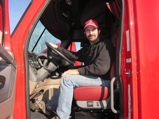 Dave Luepke, a five-year veteran at Paper Transport