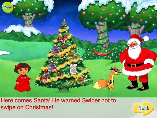 Kid apps add ho-ho-ho to your holidays