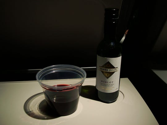 Airplane wine
