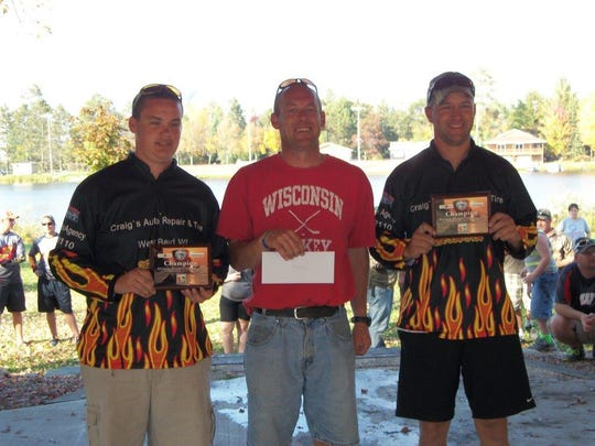 The Central Wisconsin River Series championship was held on September 27 and 28, 2014 in Tomahawk. Kevin Schumann and his son, Alec, placed first in the Championship with a two-day total weight of 27.83 pounds.