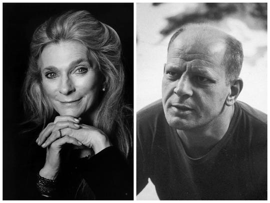 Singer Judy Collins, left, and painter Jackson Pollock were involved with the Sullivan Institute for a time.