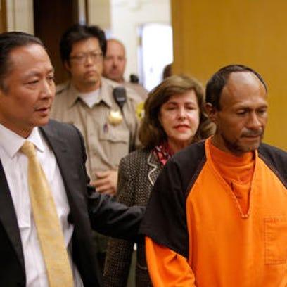 Arraignment of Juan Francisco Lopez-Sanchez, accused