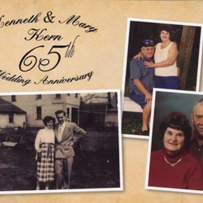 Anniversaries: Kenneth Kern & Mary Kern
