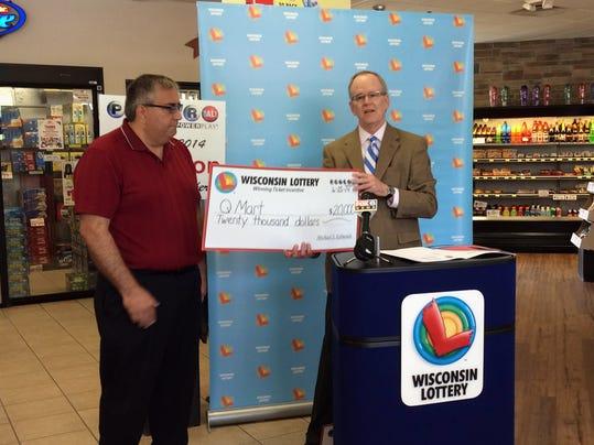 Sheboygan man wins state lottery
