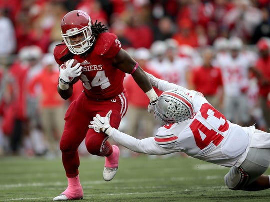 Plenty of players will get carries, but Devine Redding is the undoubted leader of IU's running back group.