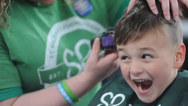 Larkin's on the River will host the 2016 head-shaving event to raise money for childhood cancers on March 20.