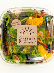 The Asian Salad from Organic Pharmer.