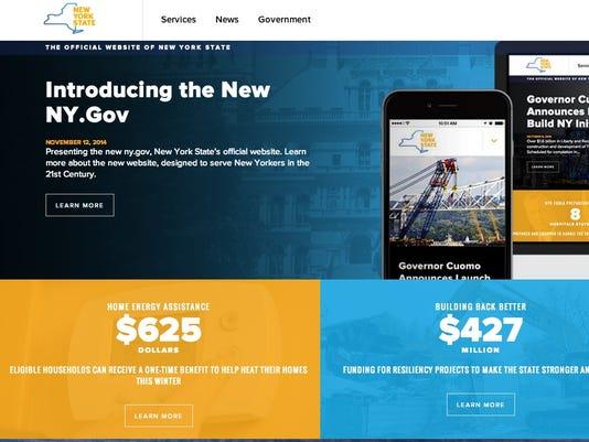 State website redesign