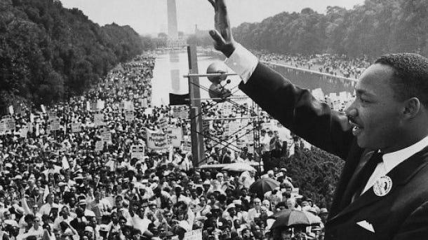 Martin Luther King Jr. in Washington, D.C.