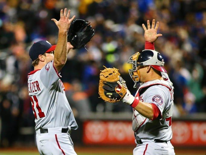 Oct. 3: Nationals' Max Scherzer becomes just the sixth