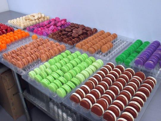 Macarons from Dana's Bakery.