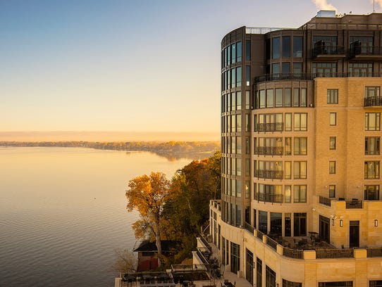 The Edgewater in Madison offers spa services and more.