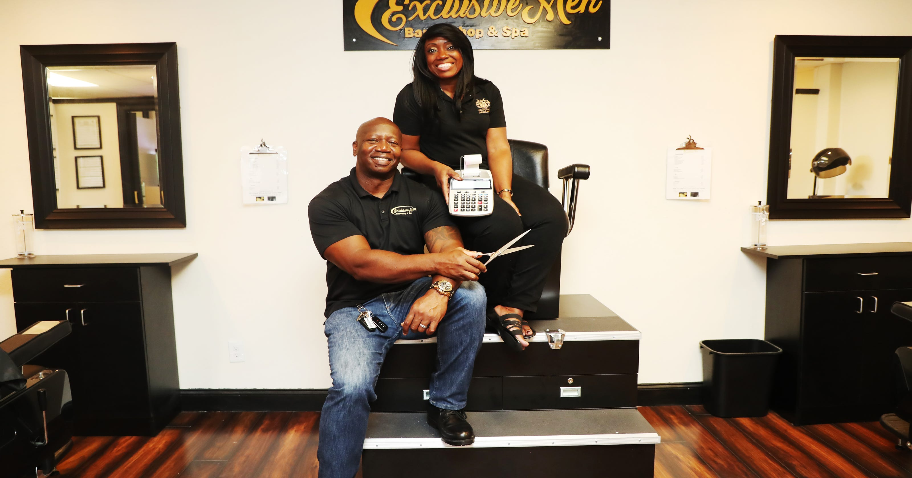 Fort Myers Barbershop Offers One Stop Accounting Haircut And Pedicure