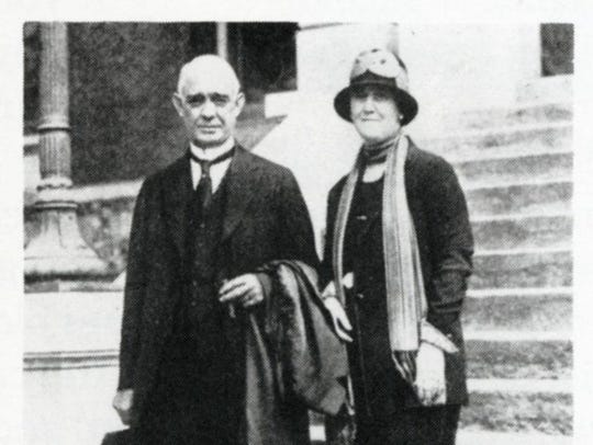 Tennessee Gov. Austin Peay and his wife, Sallie Hurst
