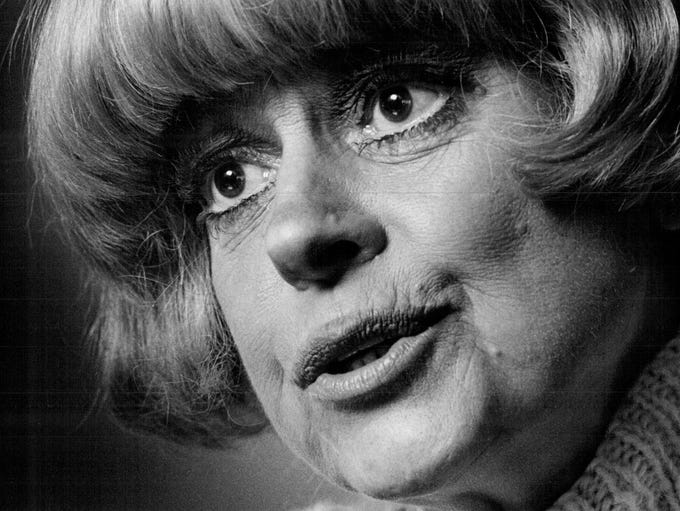 Jan. 15, 2019: Carol Channing, the vivacious, big-eyed