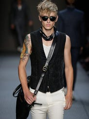 John Varvatos' fall menswear collection was inspired