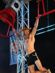 """Cape Coral teacher Morgan """"Moose"""" Wright competed on """"American Ninja Warrior"""" earlier this year."""