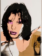Andy Warhol, Mick Jagger #9, 1975. Screenprint in color, ed. 11/250, 43 1/2 x 29 inches. Gift of Dr. and Mrs. Henry Hope. Collection of NSU Art Museum Fort Lauderdale, 76.6. Photo courtesy of NSU Art Museum Fort Lauderdale. © 2015 The Andy Warhol Foundation for the Visual Arts, Inc./Artists Rights Society (ARS), New York