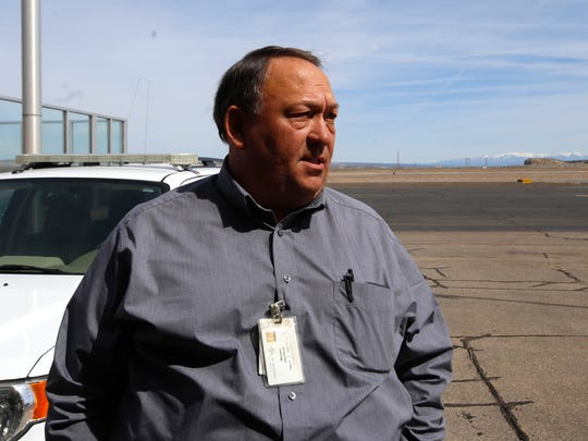 Four Corners Regional Airport Manager Mike Lewis says an FAA bill recently adopted by the U.S. Senate would help the airport complete important paving and erosion-control projects.