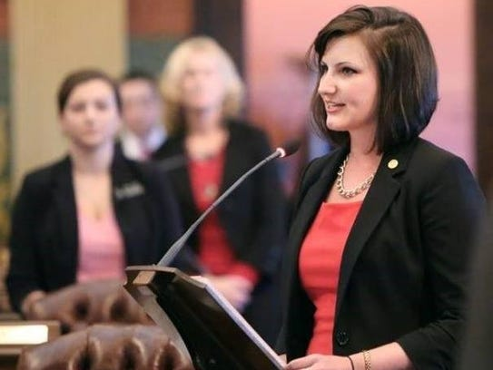 State Rep. Kristy Pagan of Canton is seeking her second