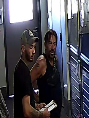 Photos of suspects in puppy theft